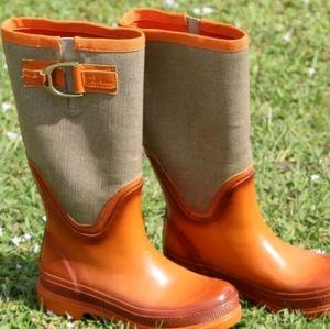 Cole Haan rain boots size 6B